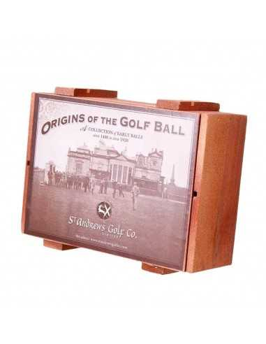 'Origins of the Golf Ball' 6 Ball Set